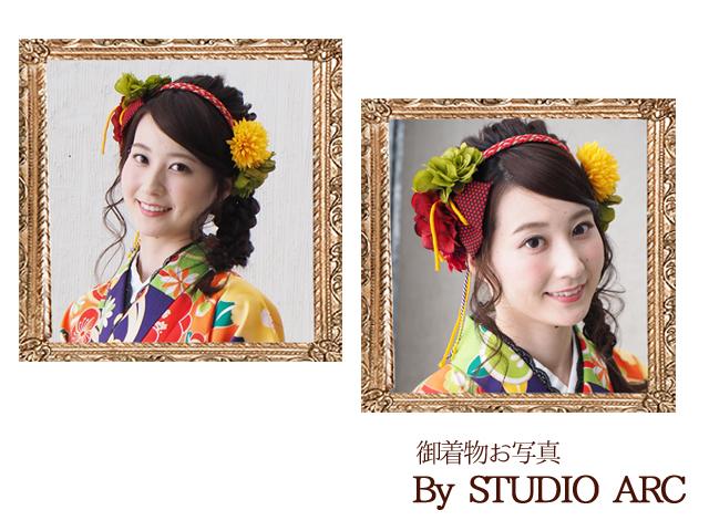 和装 卒業式 髪飾り 乙女の花しだれカチューシャ(ハイカラさん)