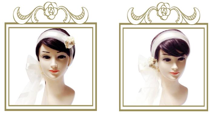 結婚式の髪飾り お客様の声⑫