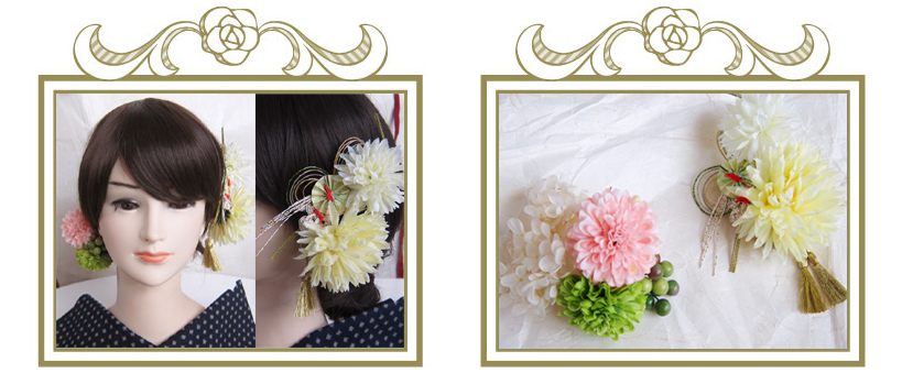 結婚式の髪飾り お客様の声④