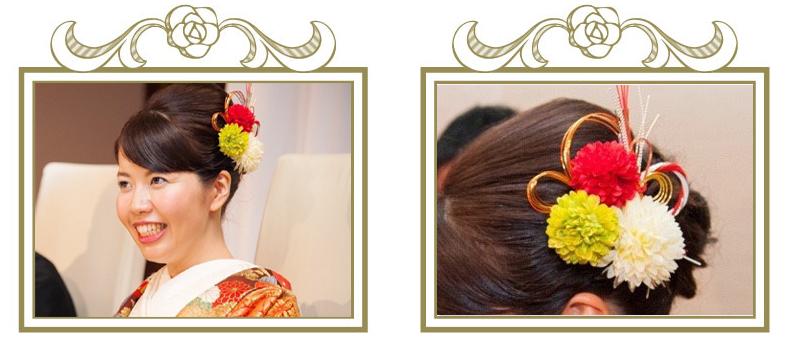 結婚式の髪飾り お客様の声⑦