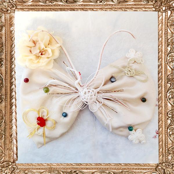 和装 髪飾り 結婚式(和婚)蝶の旅立ち(嫁入りの日)
