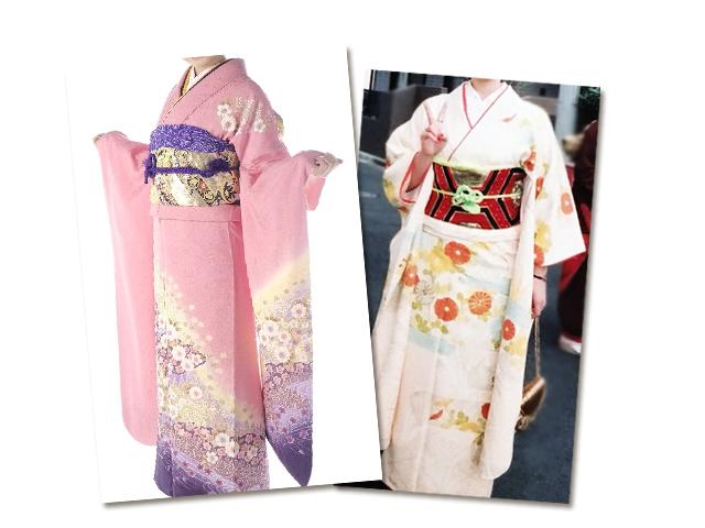 伝統的な和柄・古典的な柄の着物