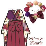 卒業式×袴×髪飾りと配色ポイントを踏まえた完全コーディネートの情報