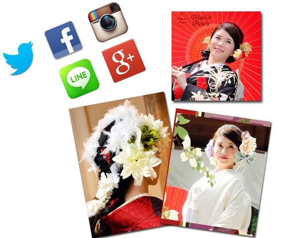SNSなどを利用したイメージ画像