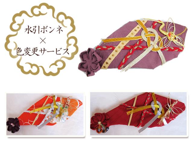 ⑬水引ボンネの色変更イメージ画像
