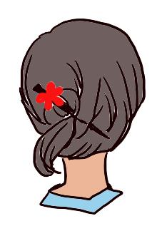 ショートやボブなどの髪の毛をまとめる長さがない人には使えないことになってしまいます。