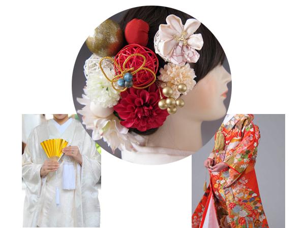 和装 髪飾り 結婚式(和婚)寿ヘッドドレス モダンミュゼ