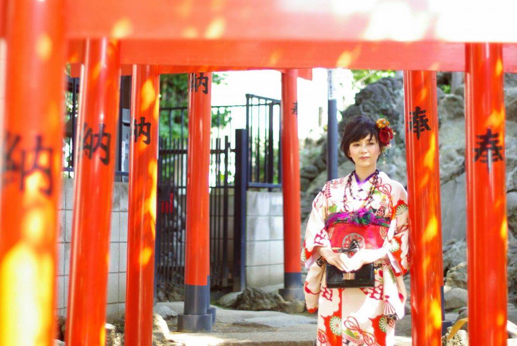 稲荷神社さんの鳥居