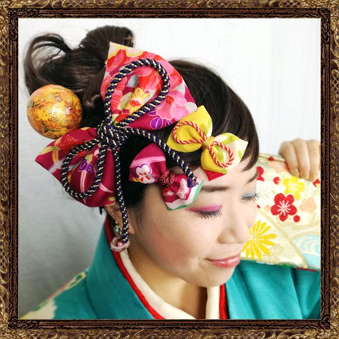 和装 髪飾り 成人式 大正ロマン レトロモダンの舞