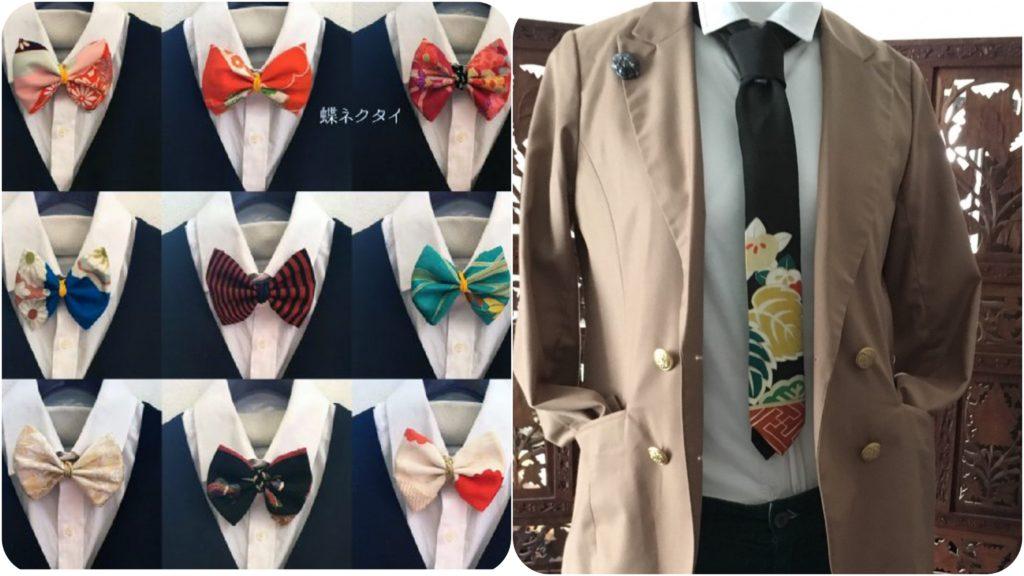 蝶ネクタイ、和ネクタイ