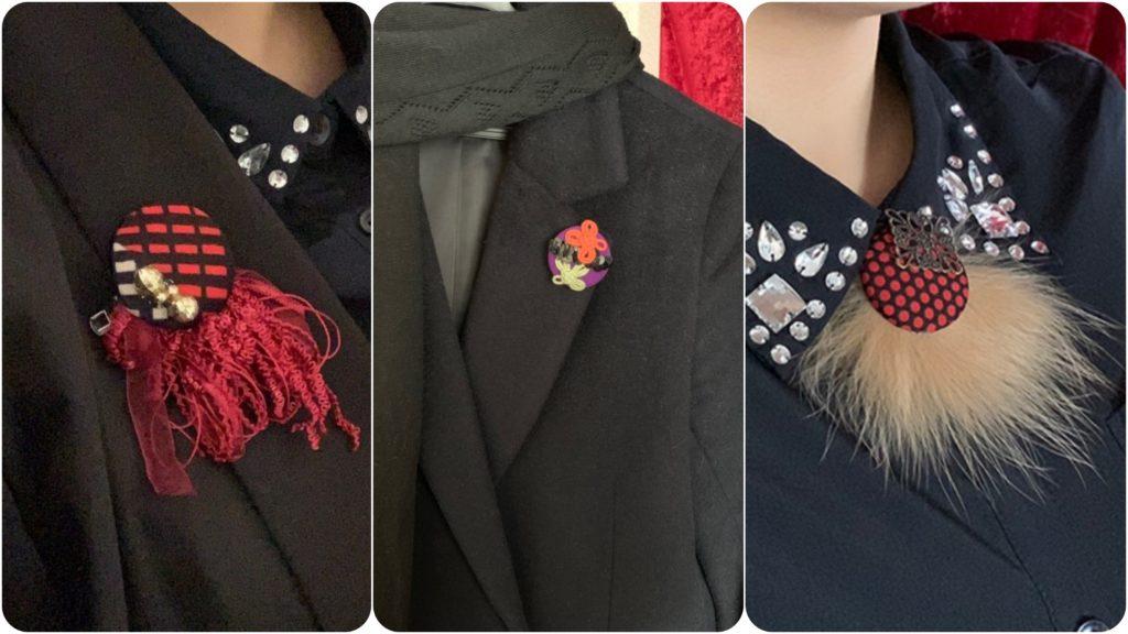 またお洋服にも合わせることが可能なので、着物以外のシーンでも マルチに着用できます。