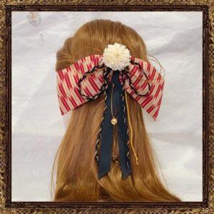 和装 袴 髪飾り 卒業式 はいからさんの乙女しだれリボン(矢絣)