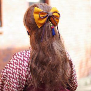 和装 袴 髪飾り 卒業式 はいからさんのレトロモダンリボン